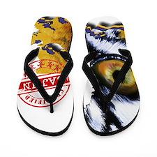 Certified Cajun Tiger Eye LA Flip Flops
