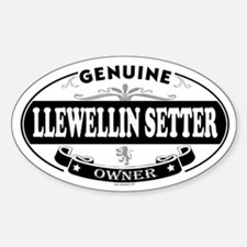 LLEWELLIN SETTER Oval Decal