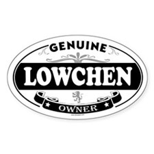 LOWCHEN Oval Decal