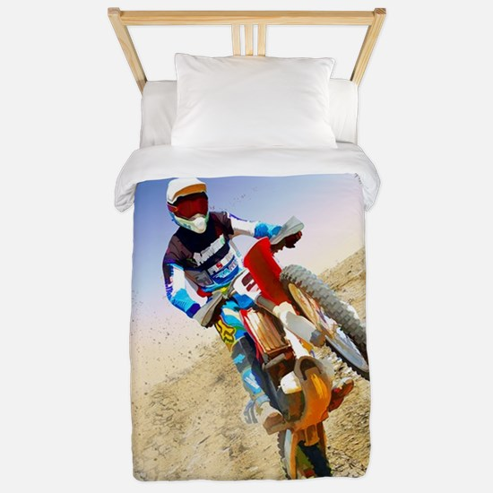 Desert Wheelie Motocross Twin Duvet