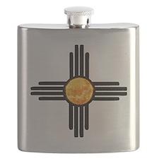 Zia Sun Sky Flask