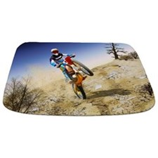 Desert Wheelie Motocross Bathmat