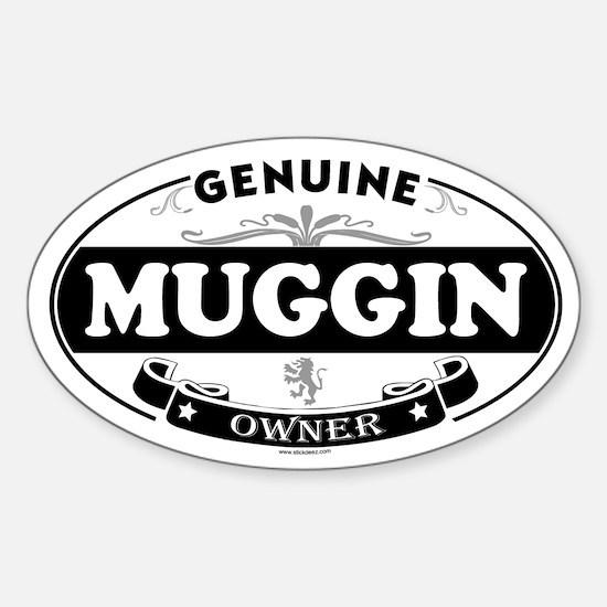 MUGGIN Oval Decal