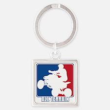 Major League ATV Square Keychain