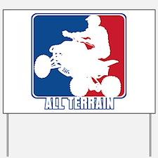 Major League ATV Yard Sign
