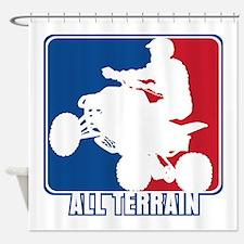 Major League ATV Shower Curtain