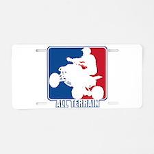Major League ATV Aluminum License Plate