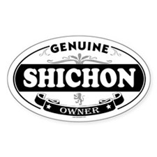 SHICHON Oval Decal