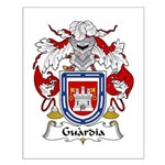 Guardia Family Crest Small Poster