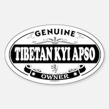 TIBETAN KYI APSO Oval Decal