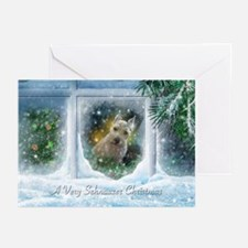 """Schnauzer Christmas"" Greeting Cards (20 pack)"