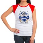 Grimaldo Family Crest Women's Cap Sleeve T-Shirt
