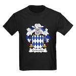 Grimaldo Family Crest Kids Dark T-Shirt