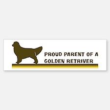 Golden Retriver (proud parent Bumper Bumper Bumper Sticker