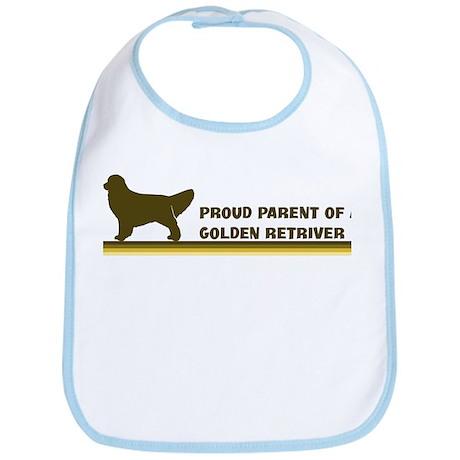 Golden Retriver (proud parent Bib