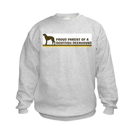 Scottish Deerhound (proud par Kids Sweatshirt