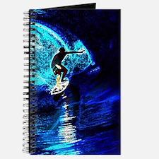 beach blue waves surfer Journal