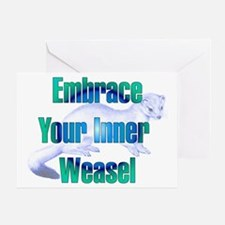 Embrace Your Inner Weasel Greeting Card
