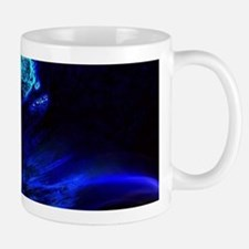 beach blue waves surfer Mugs