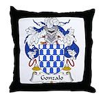 Gonzalo Family Crest Throw Pillow