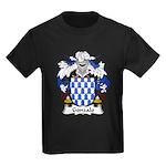 Gonzalo Family Crest Kids Dark T-Shirt