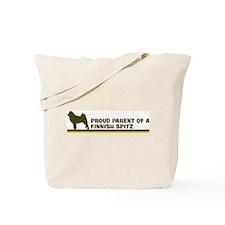 Finnish Spitz (proud parent) Tote Bag
