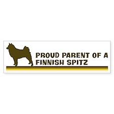 Finnish Spitz (proud parent) Bumper Bumper Sticker