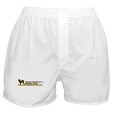 Finnish Spitz (proud parent) Boxer Shorts