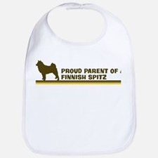 Finnish Spitz (proud parent) Bib