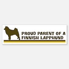 Finnish Lapphund (proud paren Bumper Bumper Bumper Sticker