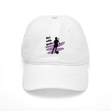Girl with goals Baseball Cap