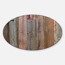 rustic western barn wood Decal