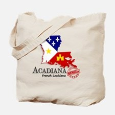 Acadiana French Louisiana Cajun Tote Bag