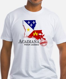 Acadiana French Louisiana Cajun Shirt
