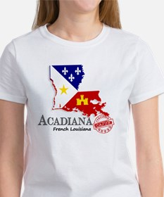 Acadiana French Louisiana Cajun Women's T-Shirt