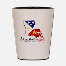 Acadiana French Louisiana Cajun Shot Glass