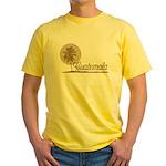Palm Tree Guatemala Yellow T-Shirt