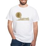 Palm Tree Guatemala White T-Shirt