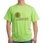Palm Tree Guatemala Green T-Shirt