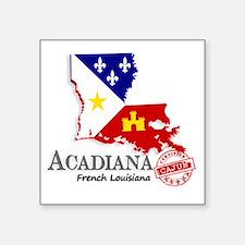 Acadiana French Louisiana Cajun Sticker