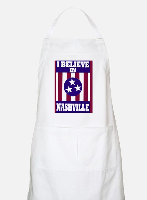 I believe in Nashville Apron