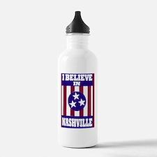 I believe in Nashville Water Bottle
