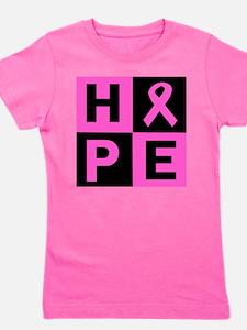 Breast Cancer Awareness hope Girl's Tee