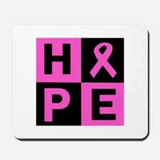 Breast Cancer Awareness hope Mousepad