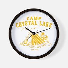 Camp Crystal Lake Wall Clock