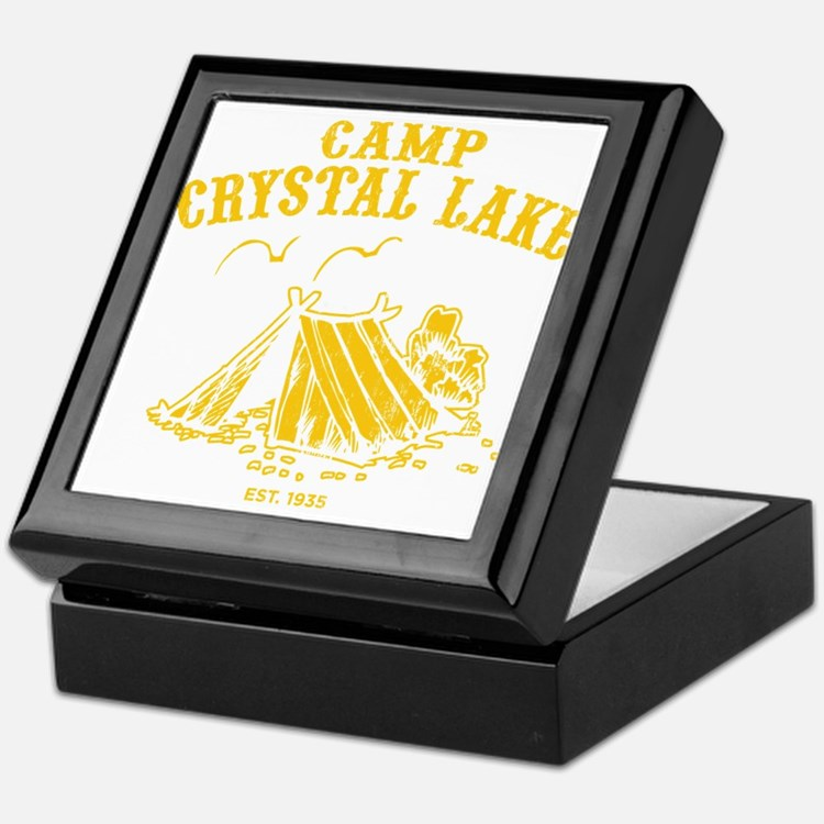 Camp Crystal Lake Keepsake Box