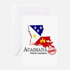 Acadiana French Louisiana Cajun Greeting Cards