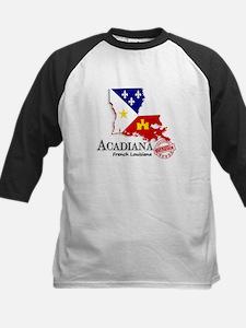 Acadiana French Louisiana Cajun Baseball Jersey