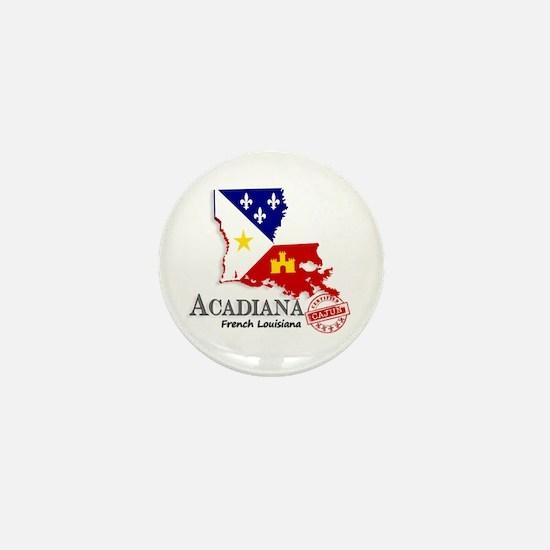 Acadiana French Louisiana Cajun Mini Button