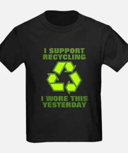 I support recycling I T-Shirt
